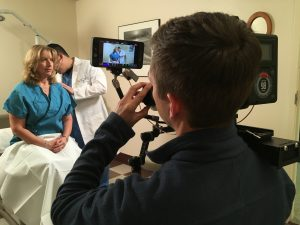 Custom video production for healthcare